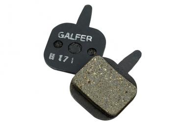 Coppia di pastiglie freno Galfer Semi-metalliche Tektro IO, Gemini. Novela, Aquila Standard