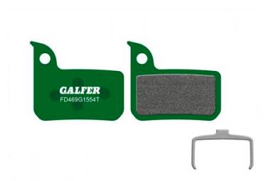 Paar Galfer Semi-Metallic Sram HDR, Rot, Force, Rival, Level, Level TLM / Ultimate Pro Bremsbeläge