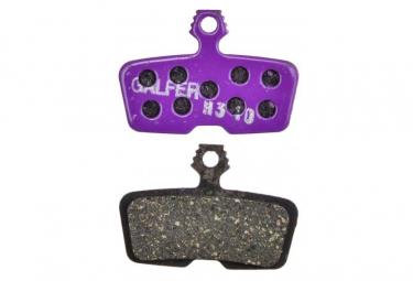 Paar Galfer Semi-Metallic Sram Code R, RSC, Leitfaden RE / Avid Code R (2011 ..) E-Bike-Pads