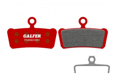 Paire de Plaquettes Galfer Semi-métalliques Avid X0 / Trail / 7 Trail / 9 Trail / Sram Guide R RS RSC Ultimate G2 Advanced