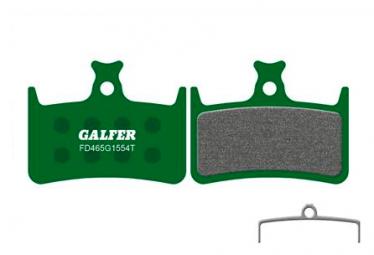 Paire de Plaquettes Galfer Semi-métalliques Hope E4 Pro