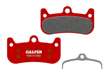 Paar Galfer Semi-Metallic Formula Cura 4 Advanced Bremsbeläge