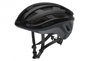 Image of Casque route smith persist mips noir gris s 51 55 cm