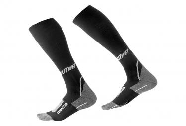 Chaussettes de compression Outwet COMP CSOCKS Noir