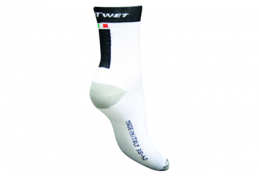 Image of Chaussettes polyamide outwet skinlife blanc noir 38 42