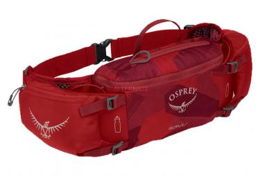 Osprey Savu 5 Belt Rojo Unisex