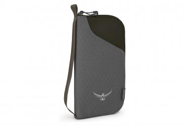 Osprey Document Zip Wallet Noir Unisex