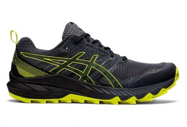 Chaussures de Trail Asics Trabuco 9 Noir / Jaune