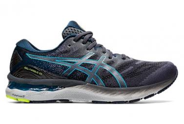 Chaussures de Running Asics Nimbus 23 Gris / Bleu
