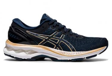 Asics Gel Kayano 27 Laufschuhe aus blauem Gold für Damen