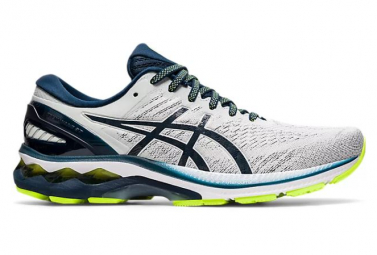 Asics Gel Kayano 27 Running Shoes White Blue