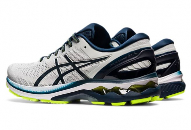 Chaussures de Running Asics Gel Kayano 27 Blanc / Bleu