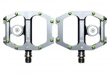 Par de pedales magnéticos Magped Ultra Titanium (imán 200N) gris