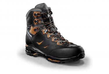 Zapato De Senderismo Lowa Camino Gtx Negro Naranja 44 1 2