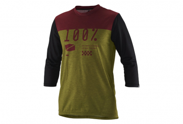 Jersey 3/4 Sleeves Airmatic Green