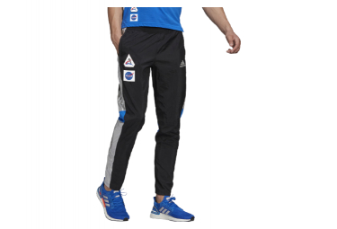 Pantaloni Adidas Own The Run Space Race Track neri
