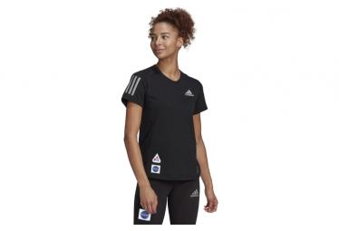 Adidas Run It Space Race Kurzarmtrikot für Damen