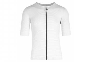 Assos Assosoires Summer Skin Layer Camiseta Interior De Manga Corta Blanco M