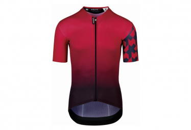 Maillot Manches Courtes Assos Equipe RS Summer - Prof Edition vignaccia Red / Rouge