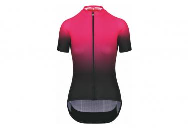 Maillot Manches Courtes Femme Assos UMA GT Jersey C2 - Shifter Foxyrider Pink / Rose
