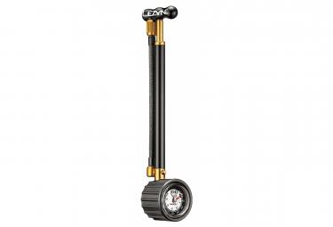 Pompa ammortizzatore Lezyne Shock Drive (Max 400 psi / 27,5 bar) Nero