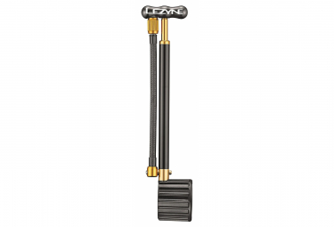Lezyne Shock Drive Dämpferpumpe (Max 400 psi / 27,5 bar) Schwarz