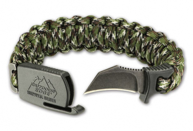 Image of Bracelet tactique outdoor edge para claw camo large