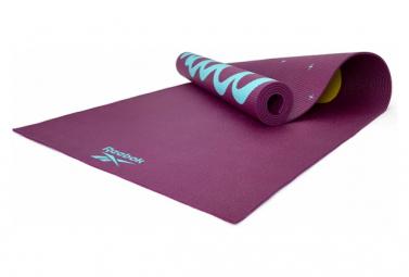 Esterilla De Yoga Reebok Double Sided 4mm Yoga Mat Violeta