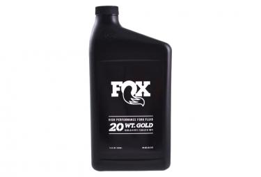 Huile de Fourche Fox Racing Shox 20 WT Gold 946 ml