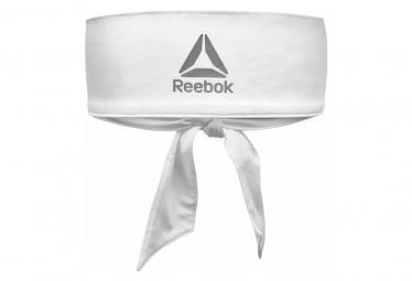 Image of Bandeau reebok tie headband blanc