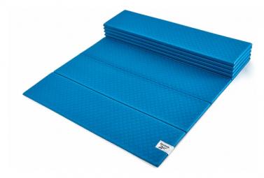 Tapis de Yoga Reebok Folded 6mm Yoga Mat Bleu