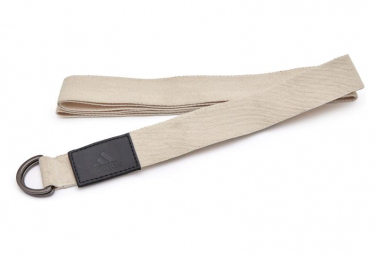 Correa de yoga adidas premium yoga strap beige