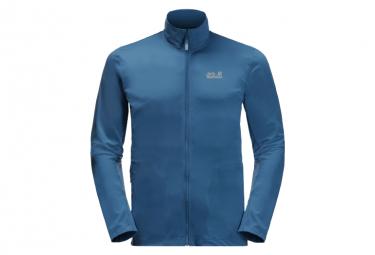 Jack Wolfskin Jwp Dynamic Fleece Azul Hombre L