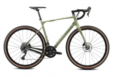 Bicicleta gravel fuji jari 1 1 shimano grx 11s 700 mm verde caqui 2021 52 cm   160 170 cm