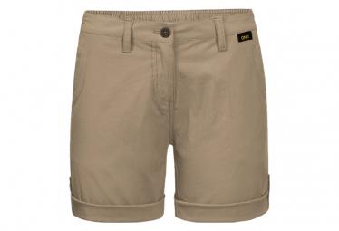Shorts De Mujer Jack Wolfskin Desert Khaki 58