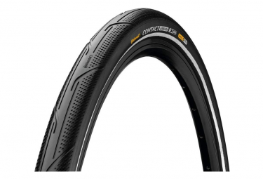 Neumático de ciudad Continental Contact Urban 700 mm Tubetype Rigid Pure Grip E-50 Safety Pro Reflex
