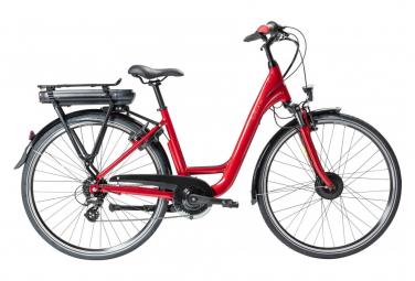 Bicicleta urbana electrica gitane organe central shimano altus 8s 300 wh 700 mm rojo 2021 50 cm   163 172 cm
