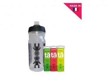 Pack Découverte Bidon + 3 Tubes Electrolytes Fraise-Kiwi / Citron et Watermelon