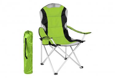 Image of Chaise pliante avec rembourrage camping vert 2208091 2