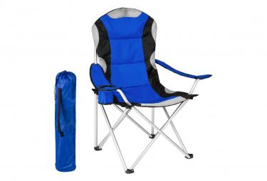 Image of Chaise pliante avec rembourrage camping bleu 2208089 2