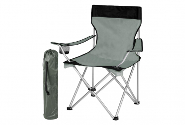 Image of Chaise pliante camping exterieur gris 2208094