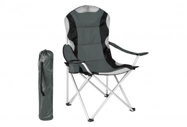 Image of Chaise pliante avec rembourrage camping gris 2208090 2