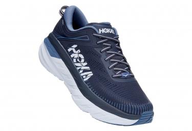 Zapatillas Hoka Bondi 7 Azul Para Correr 41 1 3