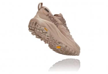 Chaussures de Trail Hoka One One Kaha Low GTX Beige