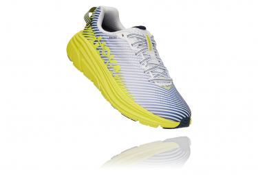 Chaussures de Running Femme Hoka One One Rincon 2 Blanc / Jaune
