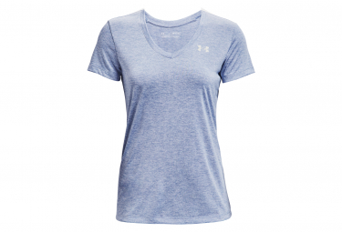 Maillot manches courtes Under Armour Tech Twist Bleu Femme