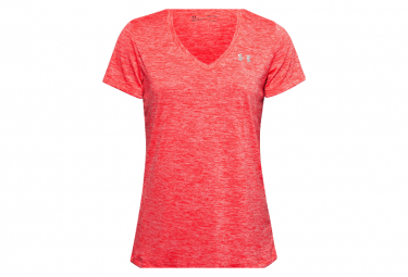 Maillot manches courtes Under Armour Tech Twist Rose Femme