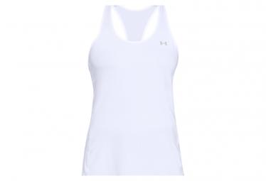 Camiseta Sin Mangas Under Armour Heatgear Armour Racer Blanco Mujer S