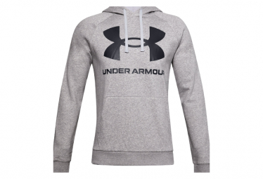 Sudadera Under Armour Rival Fleece Logo Hombre Gris L