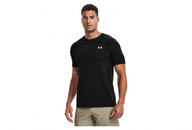 Under Armour Seamless Short Sleeve Jersey Negro Hombre L